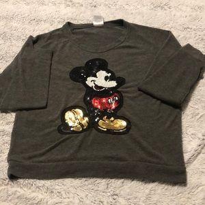 Disney Sequin Mickey Sweatshirt